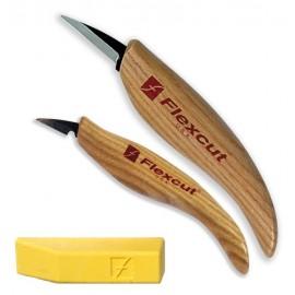 Juego de 2 cuchillos Flexcut mas populares