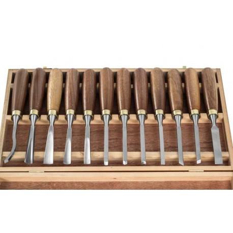 Casseta de 12 sgorbie per legno hobby 24503 for Hobby del legno