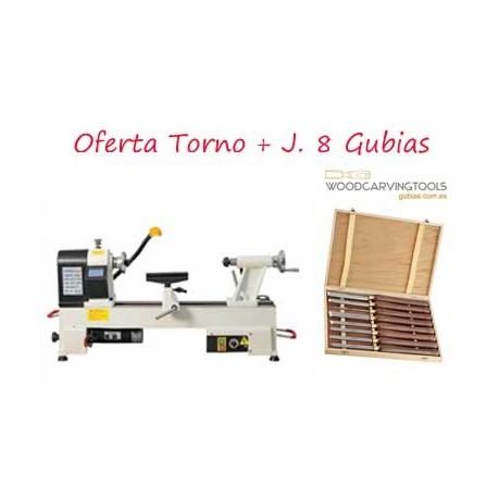 Oferta Torno 450 N + Plato de Garras + J. Gubias