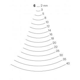 Gubia Pfeil forma 6