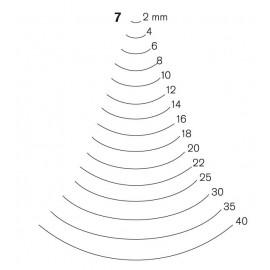 Gubia Pfeil forma 7