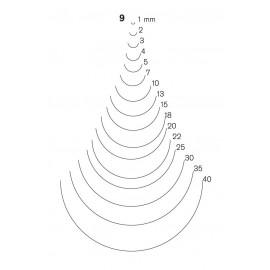 Gubia Pfeil forma 9
