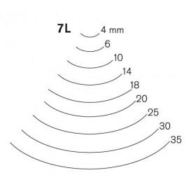 Gubia Pfeil curvada corte 7 L