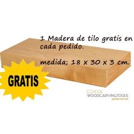 1 Madera de Tilo Gratis POR 50 EUROS DE COMPRA (2 cerezas)