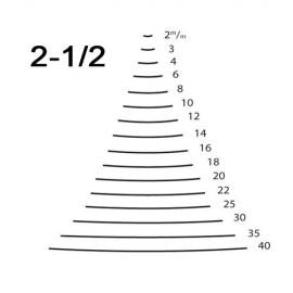 Gubia corte 2 1/2 ref. 3165